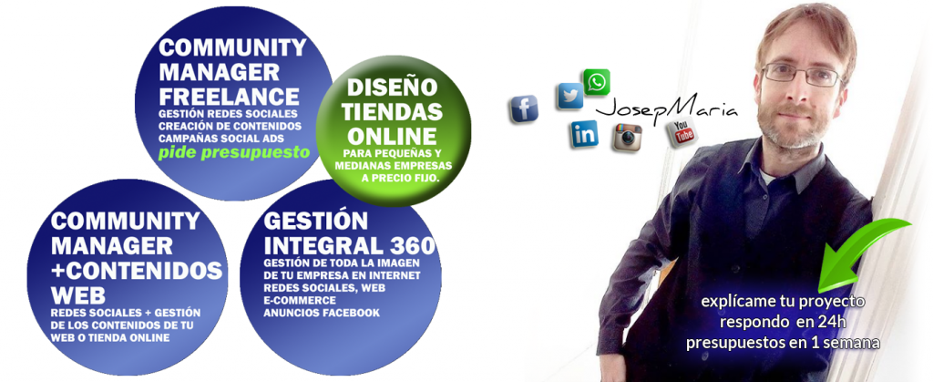 Community manager Barcelona Freelance
